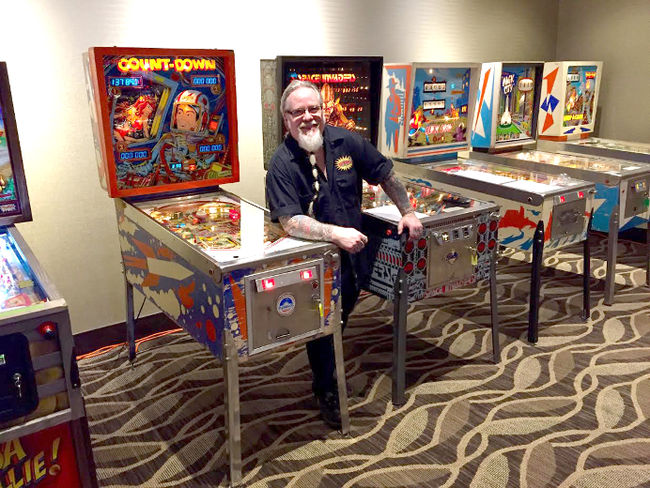 Tommy Floyd of Nitro Amusements is the organizer of the expo. Photo by Kyle Seller
